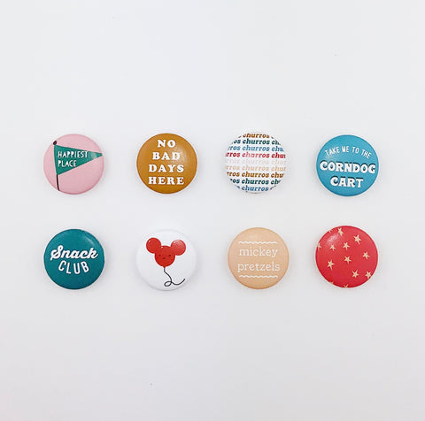"""Best Day Ever"" Button Collection"