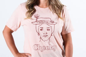 Cheeky - Mary Poppins Parody Adult Tee