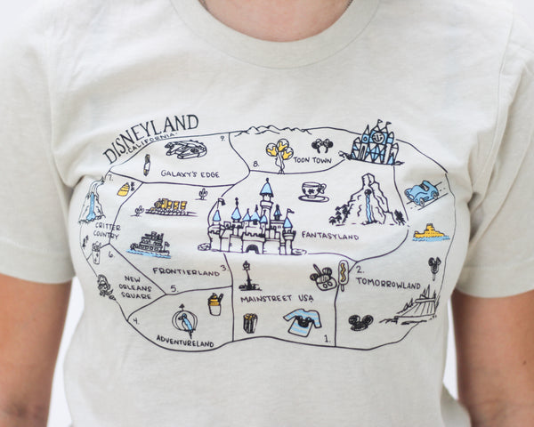 Park Map - Adult Tee