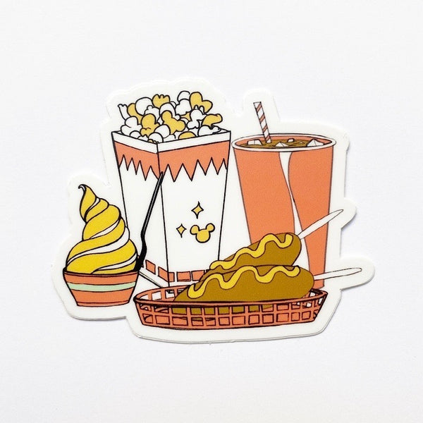 "Magic Meal: 3"" x 2.49"" STICKER"