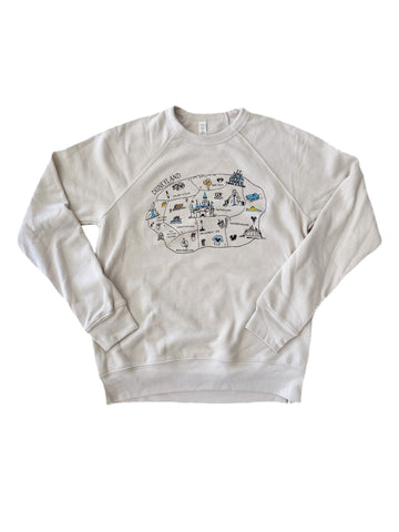 Park Map - Adult Sweater