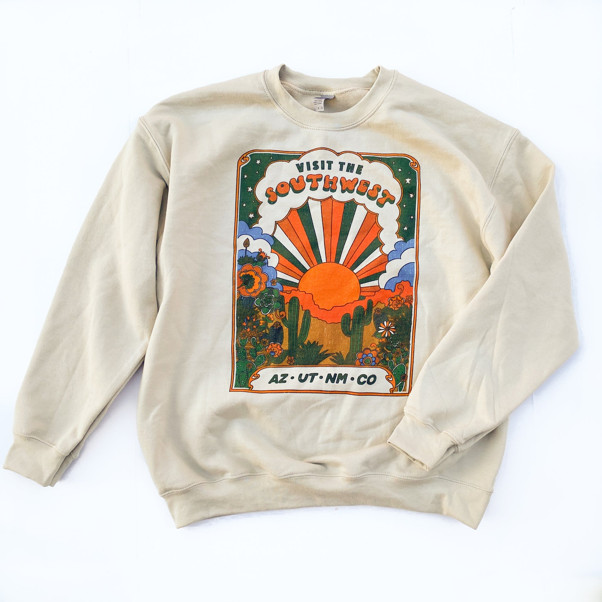 Visit the Southwest - Adult Sweater