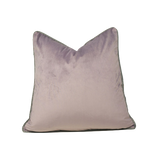 Velvet Cushion Cover with piping