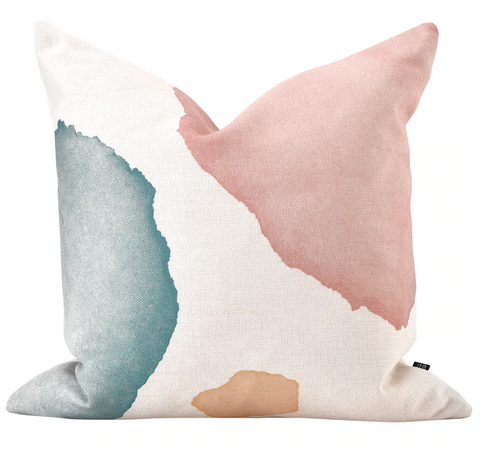 Abstract Water Color Pillow Cover