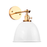 Modern Bowl Wall Sconce