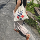 Blushing Face Canvas Bag