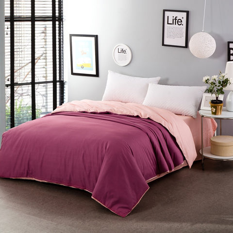 Two-Tone Duvet Cover