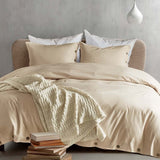 3 Piece Button Duvet Set