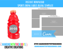 Load image into Gallery viewer, Chip Bag Template Instant Download | Canva Chip Bag Template - CUSTOM PARTY FAVORS