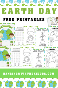 Earth Day Activity Coloring Book - CUSTOM PARTY FAVORS