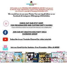 Load image into Gallery viewer, Custom Treat Bags Construction Birthday Party| Personalize Construction Boy Chip Bags|Goodie Bags Label Template - CUSTOM PARTY FAVORS