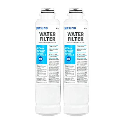 2pack Genuine Samsung Da29-00020b Haf-cin/exp Aqua-pure Plus Mineral Water Filter Sealed
