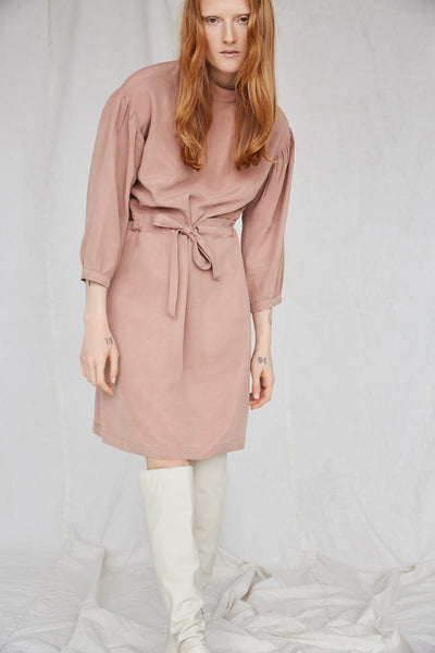 Sonora Dress in Dusty Pink