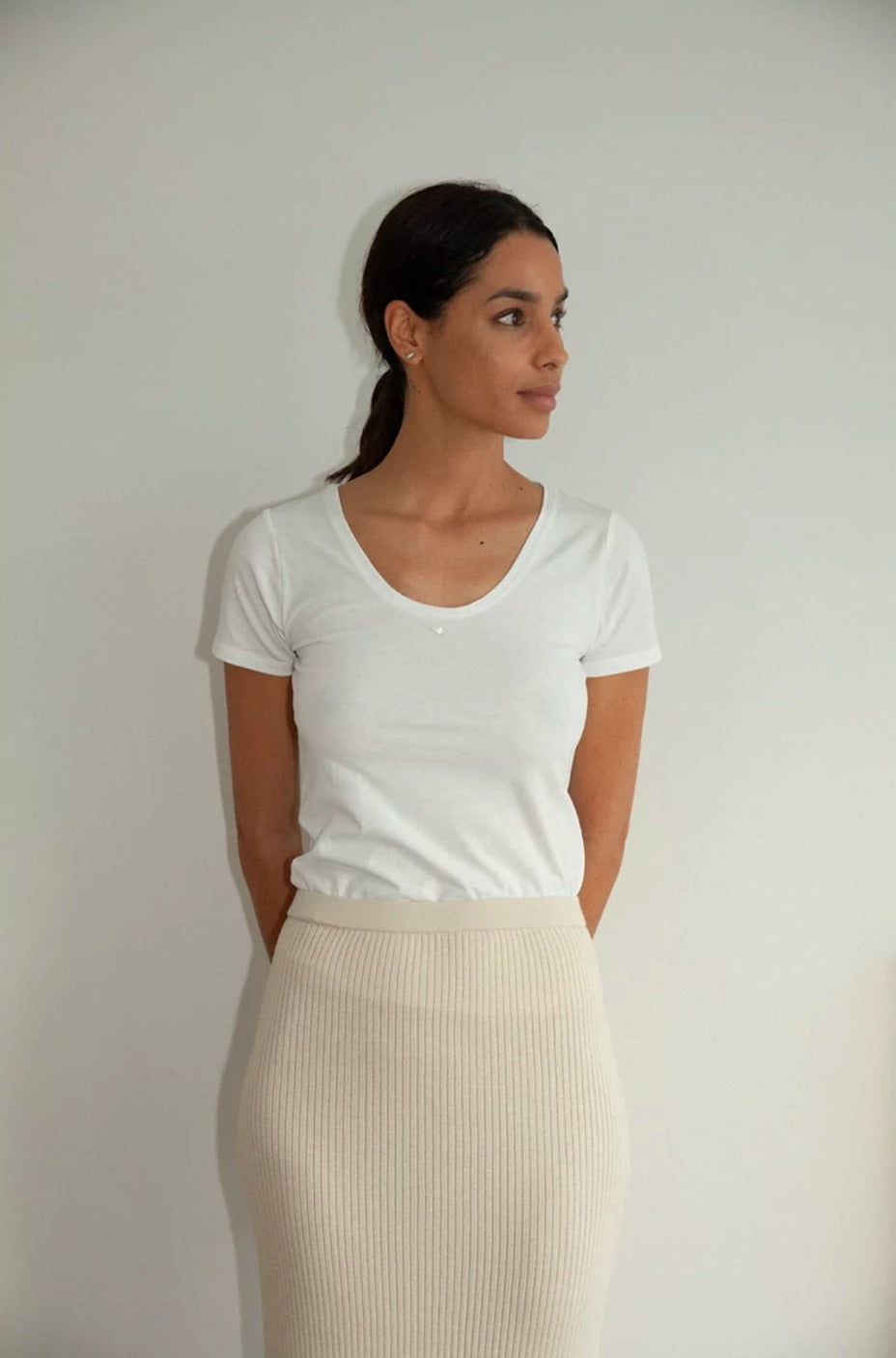 Suyu Tee in White