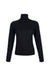By Signe Gece Top in Black with a turtleneck and long sleeves.