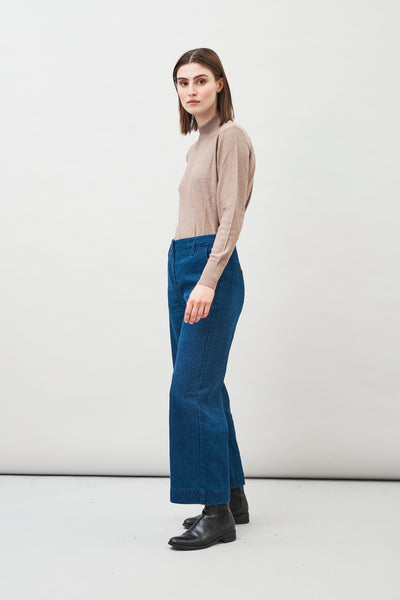 Leja Hemp Organic Cotton Cropped Jeans