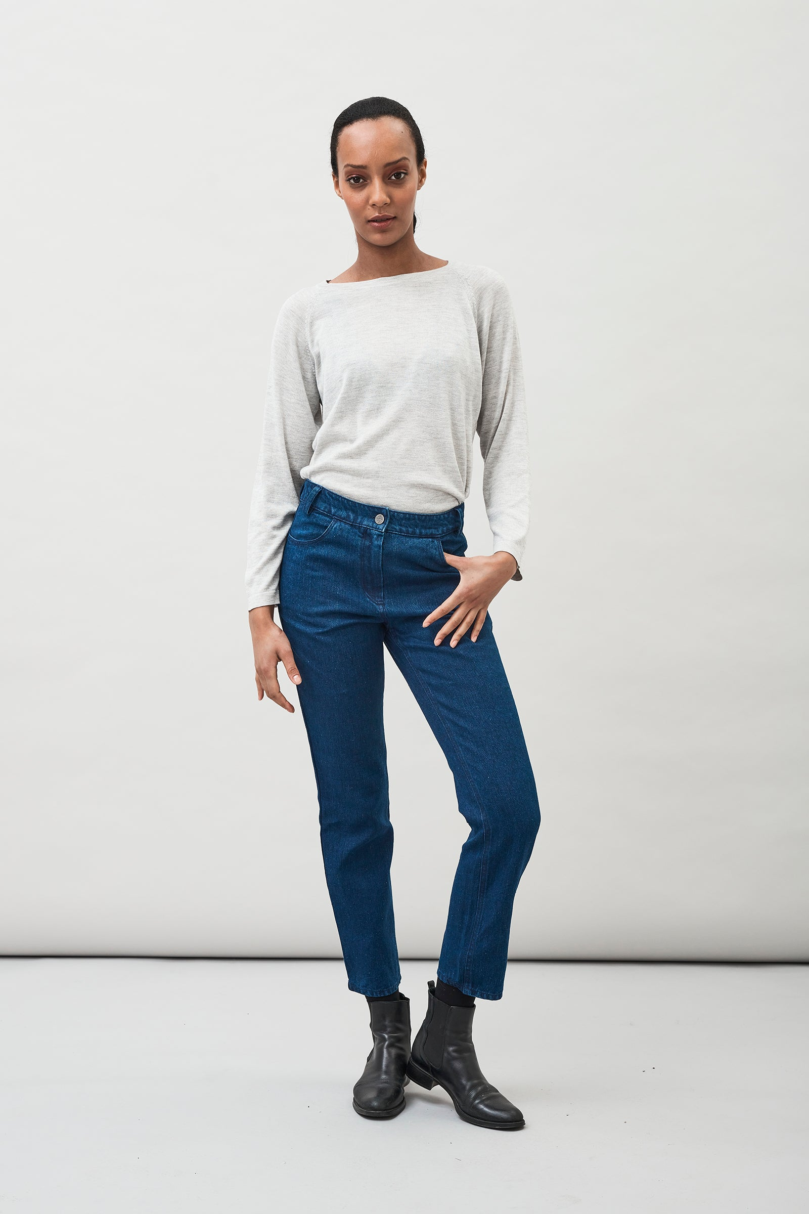 Lo Hemp Organic Cotton Jeans