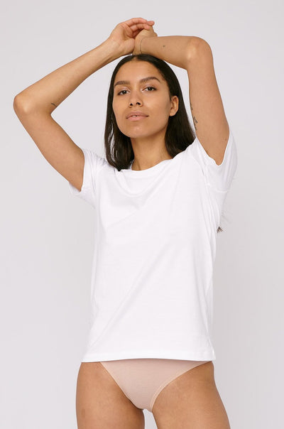 Organic Cotton Tee in White