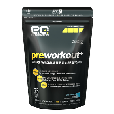 PreWorkout+ 500g - EQ Nutrition