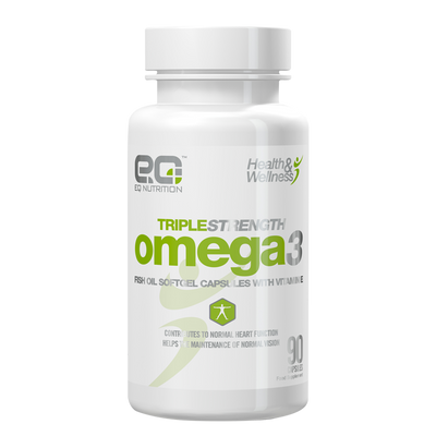 Triple Strength Omega3 90 Capsules - EQ Nutrition