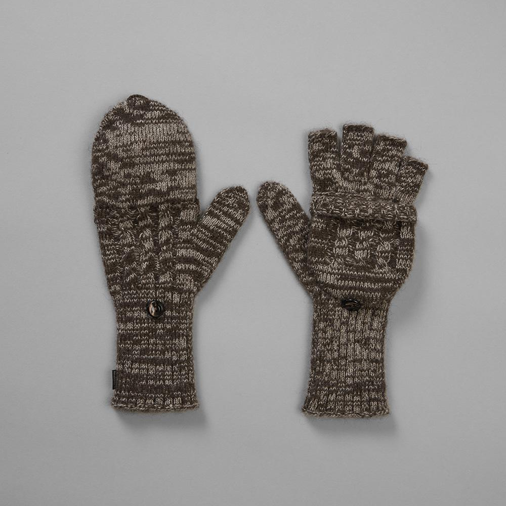 Yak Fingerless Mittens