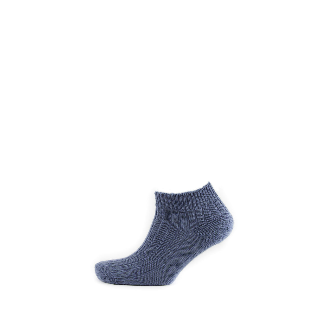 Mohair Trainer Sock Ribbed