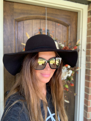 Find Me in Fredericksburg Hat-Black