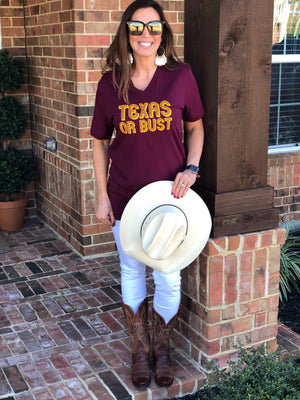 Texas Or Bust Tee