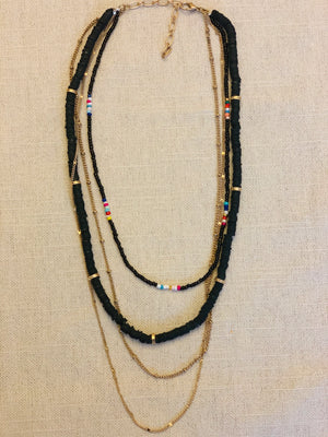 The Everly Necklace-Black