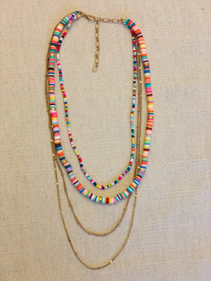 The Everly Necklace-Multi