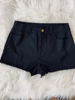 The Rylee Short-Black