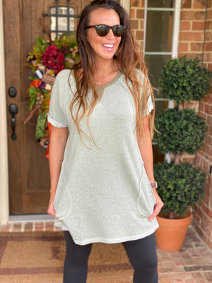 The Josie Tunic-Sage