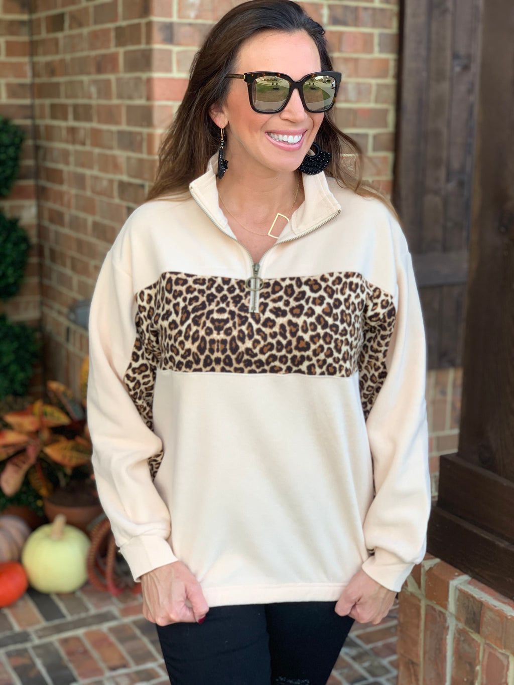 The Favorite Pullover-Cheetah