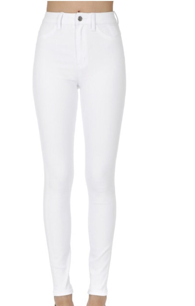 White Non-Distressed Denim
