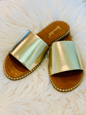 Gold Obsession Slides