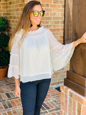 Ivory Juliet Top