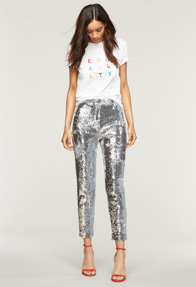 13cbff70b2 Sequins High Waist Skinny Pant - MILLY | MILLY