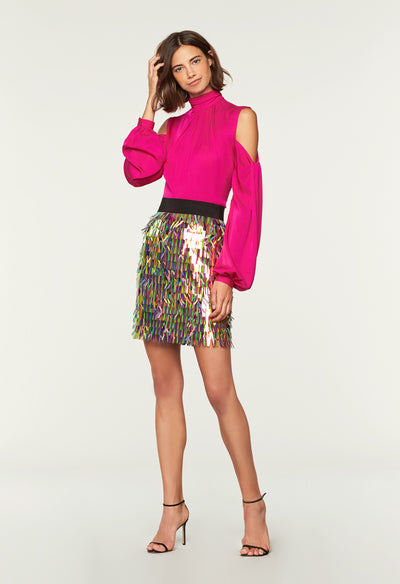 dc3881106 Matchstick Paillette Modern Mini Skirt - MILLY | MILLY