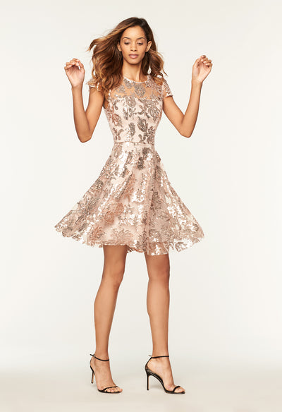 ac8cd088afb36 Sequin Meg Cocktail Dress - MILLY | MILLY