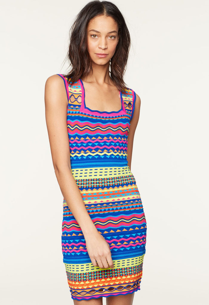 f7e2cf660b8d Technicolor Textured Dress Technicolor Textured Dress