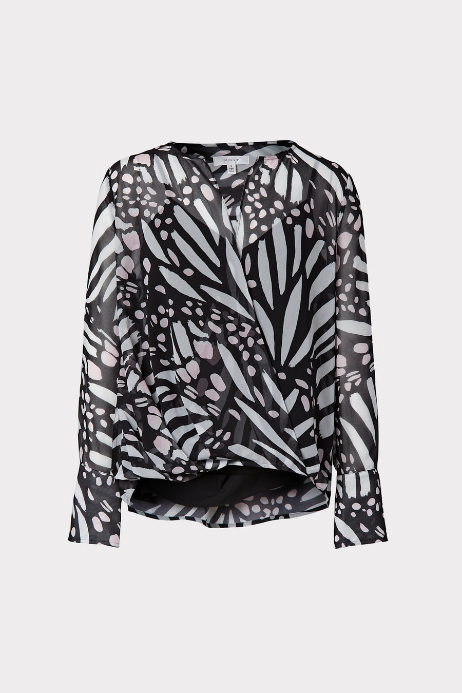 Elysa Graphic Butterfly Top