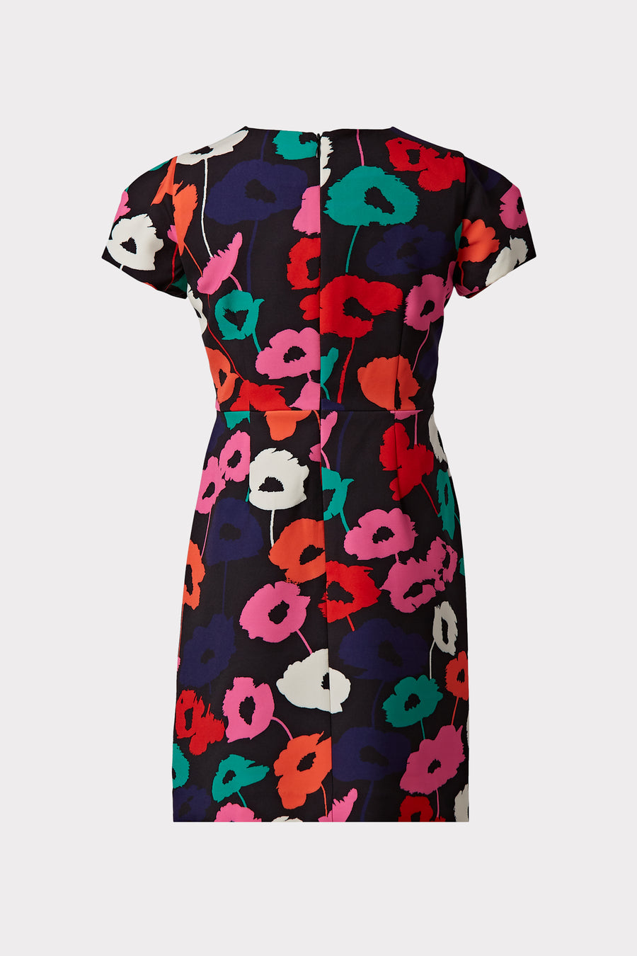 Milly Minis Atalie Multi Poppy Print Cady Dress