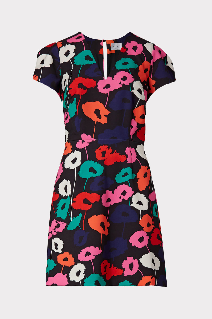 Atalie Poppy Print Dress