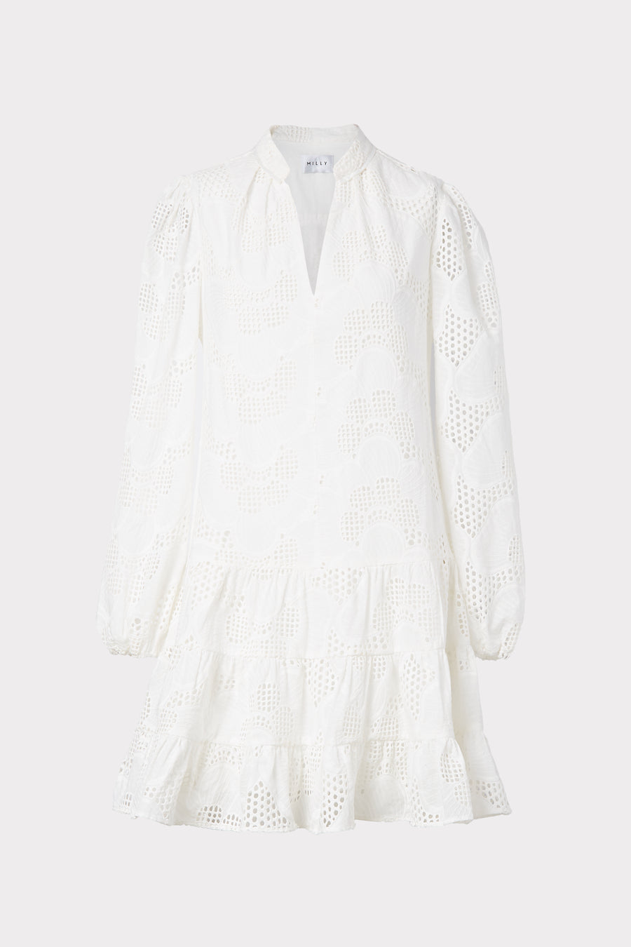 Margaret Pieres Eyelet Dress