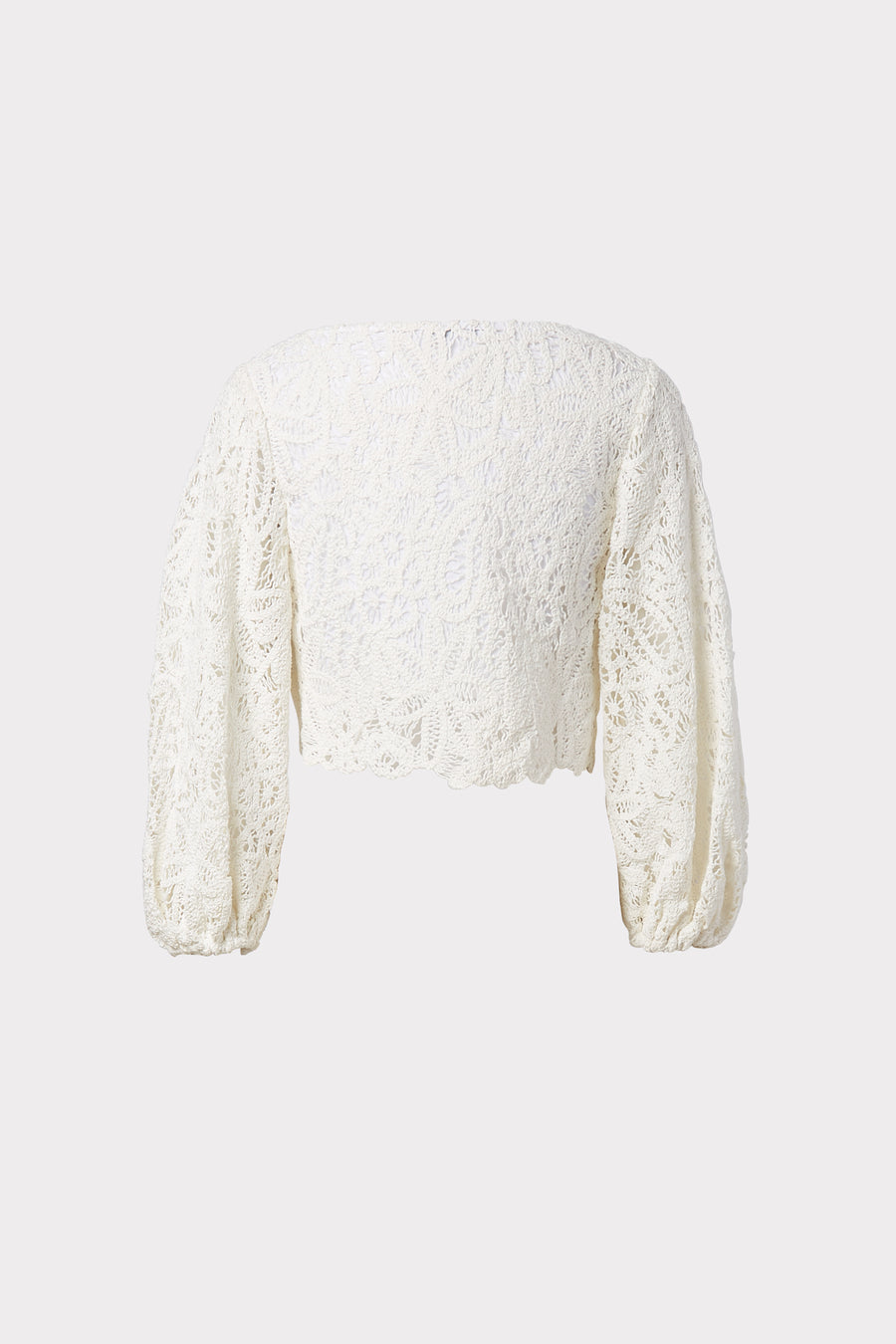Camila Cotton Crochet Embroidered Top