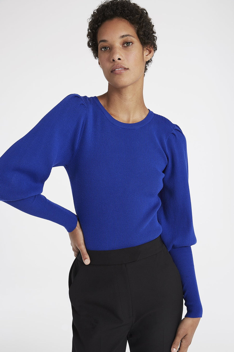 Poof Sleeve Pullover