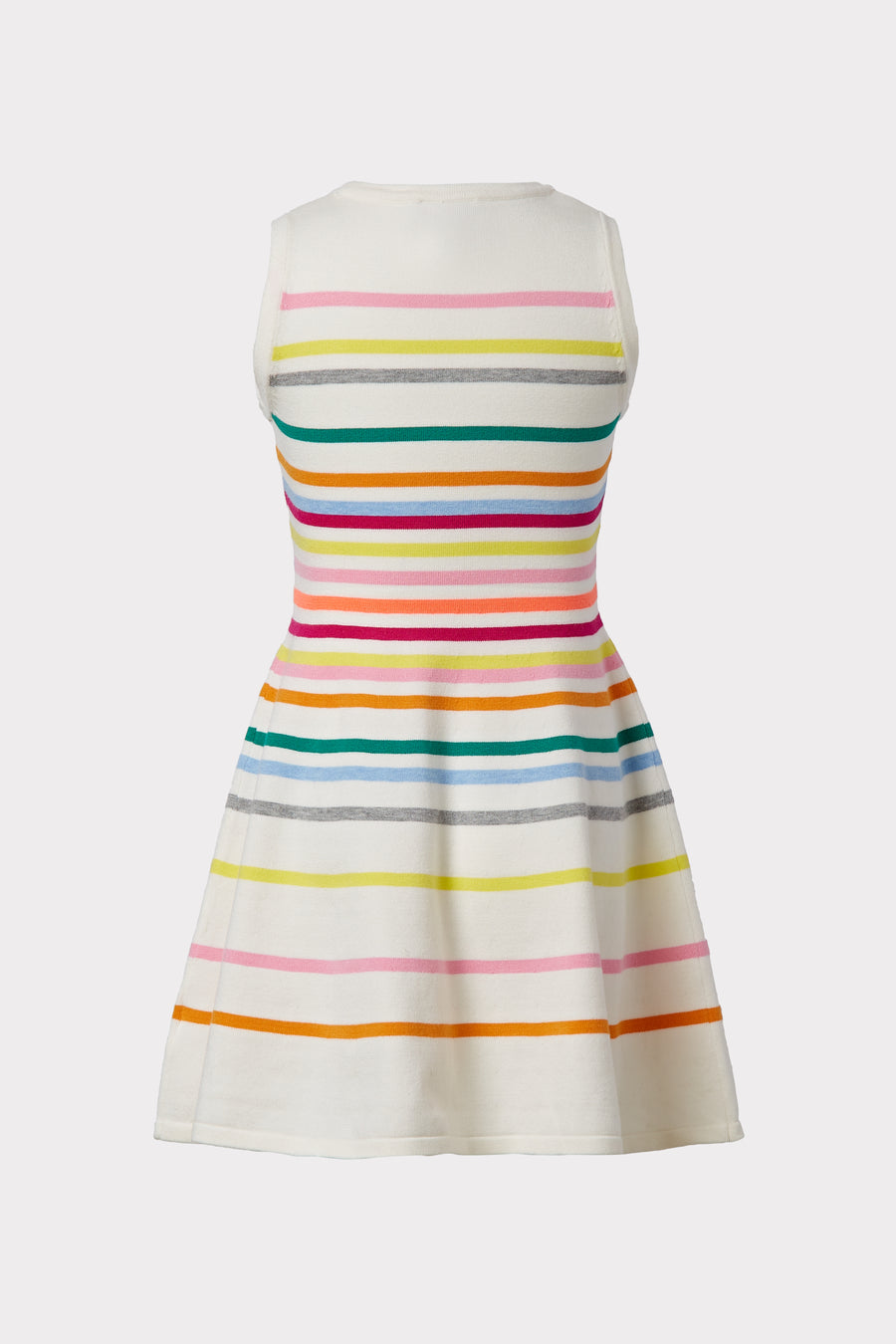 Milly Minis Rainbow Stripe Flare Dress