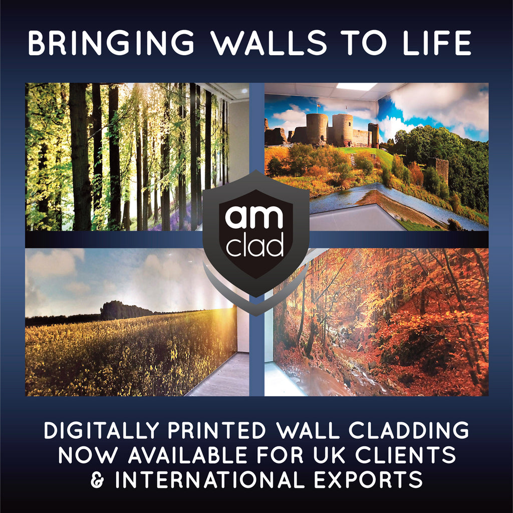 Bespoke graphics for PVC wall cladding panels