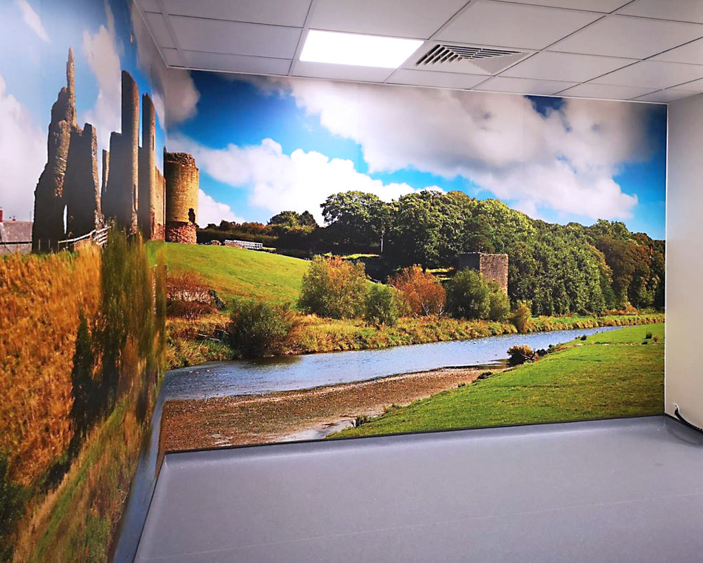 AM-Clad bespoke graphics on PVC wall panels