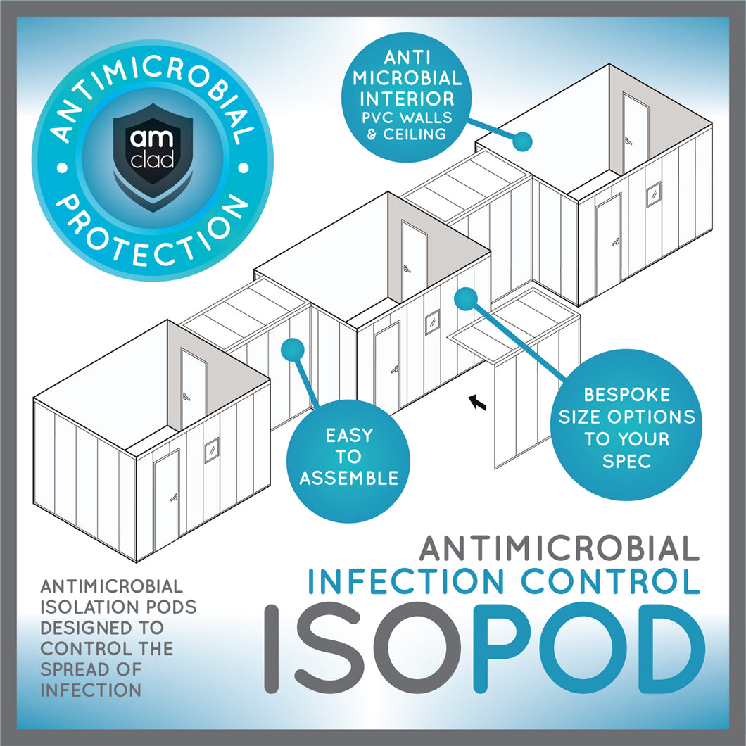 IsoPod - Antimicrobial Isolation Pod